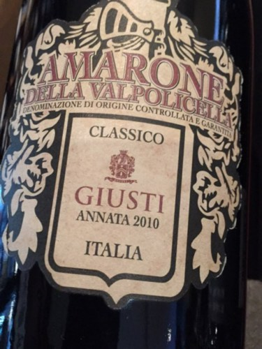 Amarone label